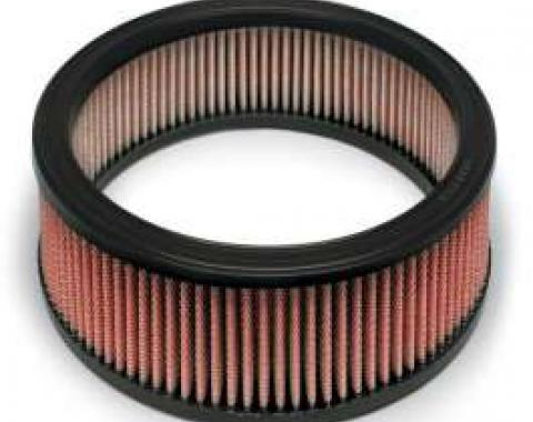 Camaro AIRAID? SynthaFlow Air Filter, Red, 3.8L, 5.0L, 5.7L, 6.6L With 4 Tall Filter, 1970-1992