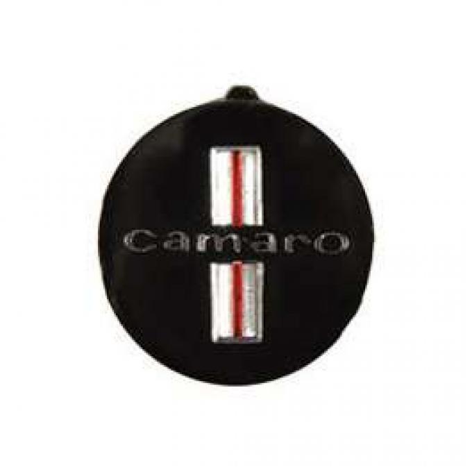 Camaro Horn Button Insert, With Camaro Word, 1967