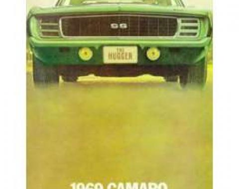 Camaro Dealer Showroom Brochure, 1969