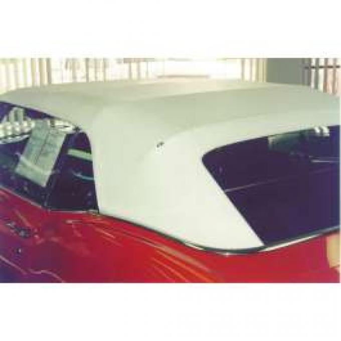 Firebird Top, Convertible, 36oz.Vinyl, Glass Rear Window, Black, 1967-1969