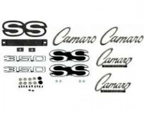 Camaro Emblem Kit, For Super Sport (SS) With 350ci & Rally Sport (RS) Package, 1968