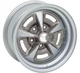 Camaro Yenko Style Rally II Wheel, 15 x 8, 4 Backspace, 1967-1981