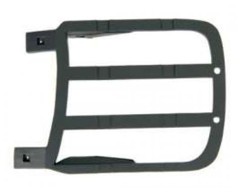 Camaro Headlight Door Cover Backing Plate, Left, Rally Sport (RS), 1969