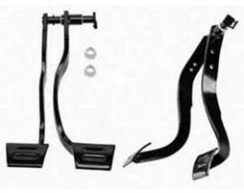 Camaro Pedal Assembly, Brake & Clutch, 1967-1968