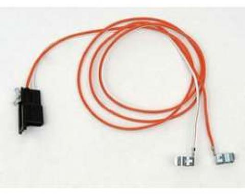 Camaro Console Wiring Harness, Without Gauges, With Manual Transmission, 1970-1973