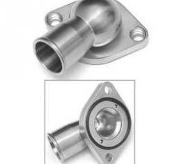 Camaro Thermostat Housing, Stainless Steel, Natural Finish,1967-1969