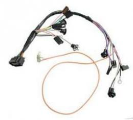Camaro Console Wiring Harness, For Cars With Factory Gauges& Automatic Transmission, 1969