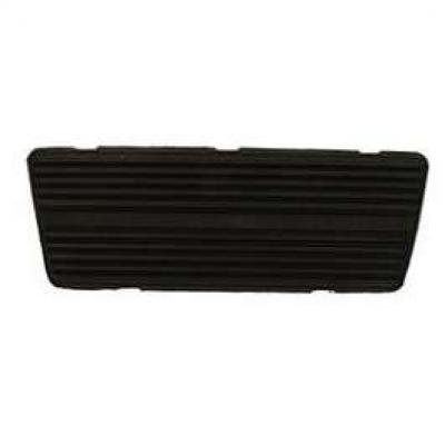 Camaro Brake Pedal Pad, For Cars With Drum Brakes & Automatic Transmission, 1967-1975