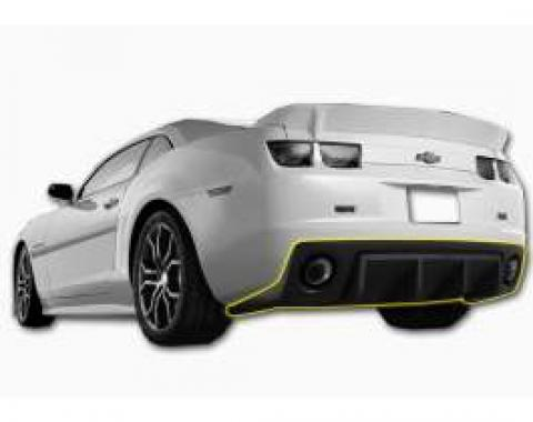 Camaro Havoc Rear Diffuser With Carbon Fiber Graphic 2010-2014
