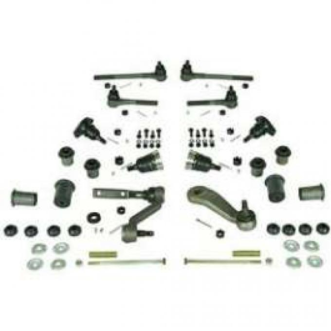 Camaro Suspension Rebuild Kit, Front, Major, For Cars With Standard Ratio Power Steering, 1967