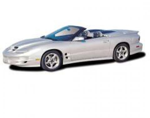 Camaro Tonneau Cover, with Carbon Fiber Blisters, 1993-2002