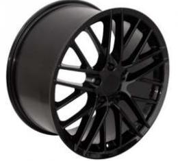 Camaro 17 X 8.5 C6 ZR1 Reproduction Wheel, Black, 1993-2002