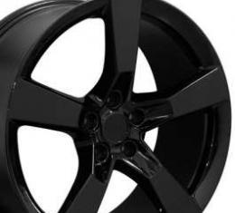 Camaro SS Style Black 20 X 9 Replica Wheel, 2010-2013