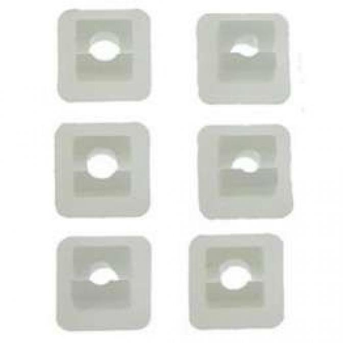 Camaro Grille Attachment Nut Insert Set, Standard or Rally Sport (RS), 1969