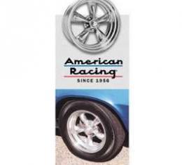 Camaro Torq-Thrust II Wheel, 14 x 6, American Racing, 1970-1981