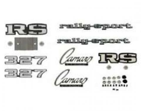 Camaro Emblem Kit, For Rally Sport (RS) With 327ci, 1969