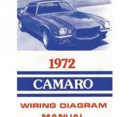 Camaro Wiring Diagram Manual, 1972