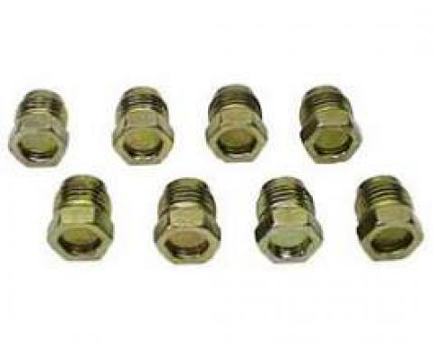 Camaro Exhaust Manifold Smog Fitting Plug Set, 1967-1981