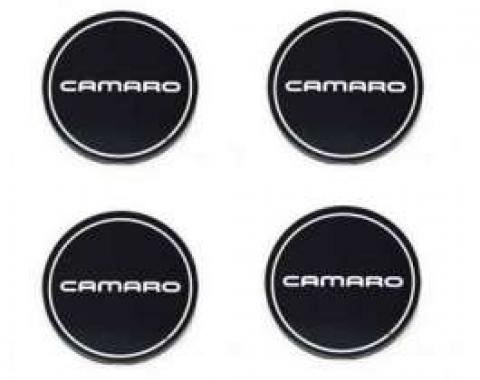 Camaro Rally Wheel Center Cap Inserts, 1990