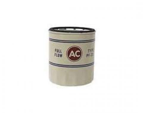 Camaro Oil Filter, PF25, AC, 1968-1969
