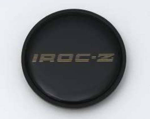 Camaro Wheel Center Cap Emblem, IROC-Z, Chrome, 1989-1990