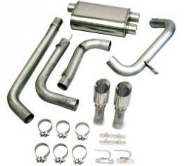 Camaro Exhaust System, LT1, For Cars Wtih Dual Cats, With Pro-Series 4
