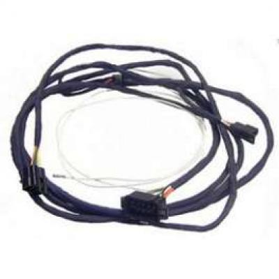 Camaro Dash To Quarter Wiring Harness, Coupe, For Cars With Under Dash Lights, 1969