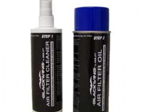 Air Filter Cleaning and Oil Kit, Blackwing