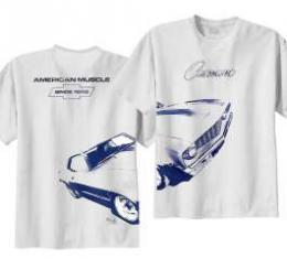 Camaro T-Shirt, 1969 Wrap Around Design