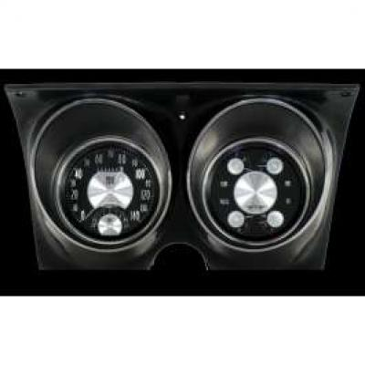 Camaro Updated Gauge Kit, All American Tradition Series, Classic Instruments, 1967-1968