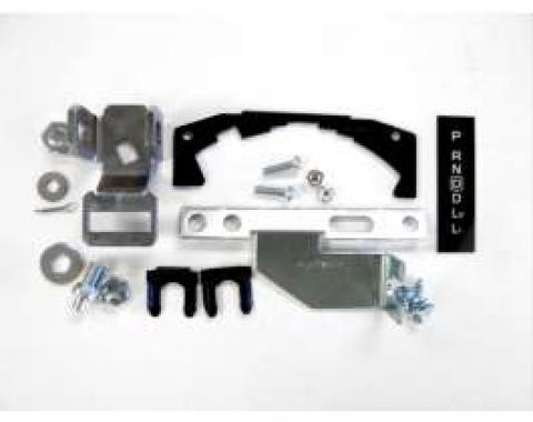 Camaro Shifter Conversion Kit, Automatic Transmission To Overdrive TH200/700/4L60 Automatic Transmission, 1973-1978