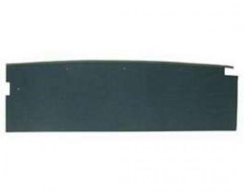 Camaro Seat Back Partition, Fold Down, Rear, Black, 1968-1969