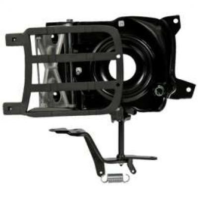 Camaro Headlight Door Assembly, Left, Rally Sport (RS), 1969