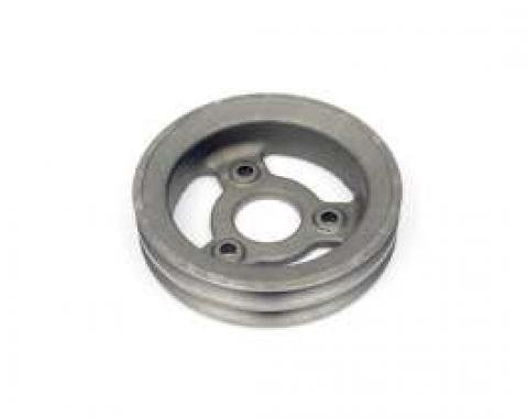 Camaro Crankshaft Pulley, 396/325 & 375hp, Double Groove, For Cars Without A.I.R. Pump & Power Steering, 1967