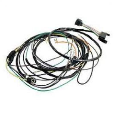 Camaro Console Gauge Conversion Wiring Harness, For Cars With Manual Transmission, 1967
