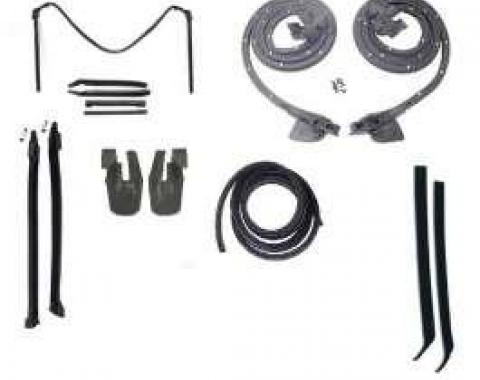 Camaro Convertible Top & Body Weatherstrip Kit, 1968-1969