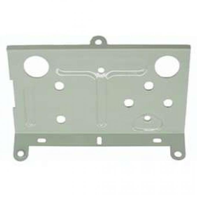Camaro Console Gauge Mounting Plate, Rear (Battery Ammeter & Water Temperature), 1968-1969