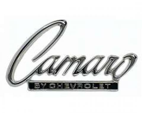 Camaro Header Panel & Deck Lid Emblem, Camaro By Chevrolet,1968-1969