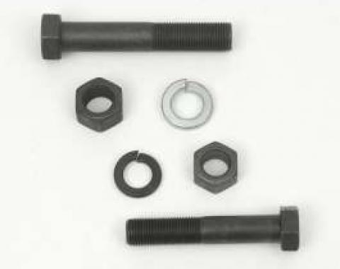 Camaro Square Radius Rod Stop & Bumper Mounting Hardware Kit, 1967