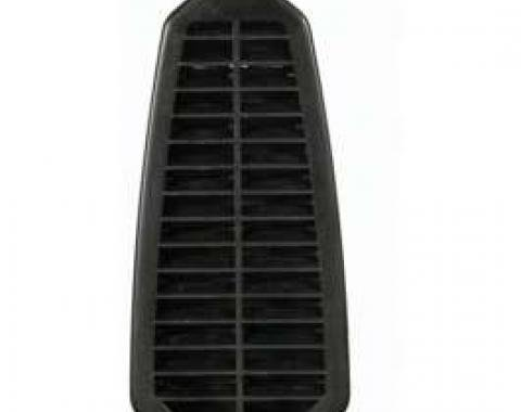 Camaro Door Jamb Vent Grill, With Flapper, 1968-1969