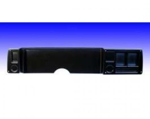 Camaro Dash Panel, Not Drilled, Black, Blank Panel, 1979-1981