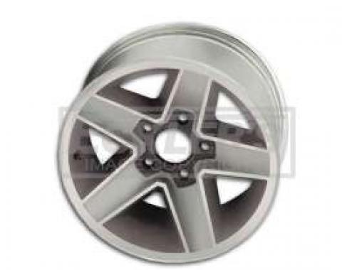 Camaro Z28 Aluminum Wheel, N90, 15x7, 4 1/4 Backspace, 1982-1987