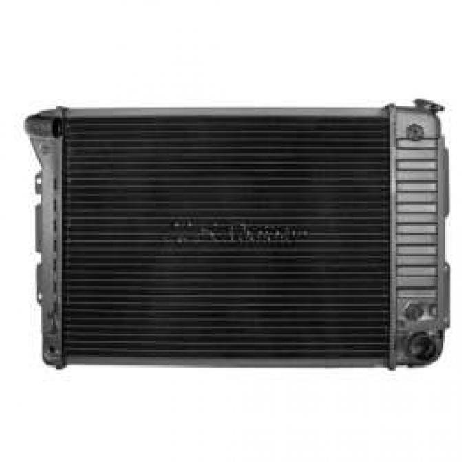 Camaro Radiator, Big Block, Curved Filler Neck, For Cars With Automatic Transmission, U.S. Radiator, 1967-1969