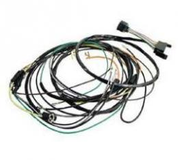 Camaro Console Gauge Conversion Wiring Harness, For Cars With Manual Transmission, 1968