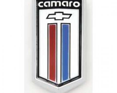 Camaro Gas Door Emblem, Berlinetta, 1980-1981