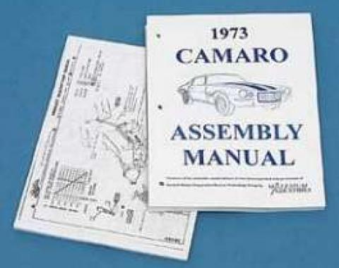 Camaro Assembly Manual, 1973