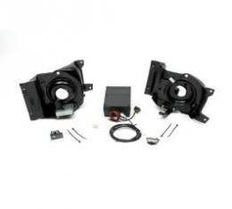 Camaro Headlight Door Conversion Kit, Vacuum To Electric, Rally Sport (RS), 1969