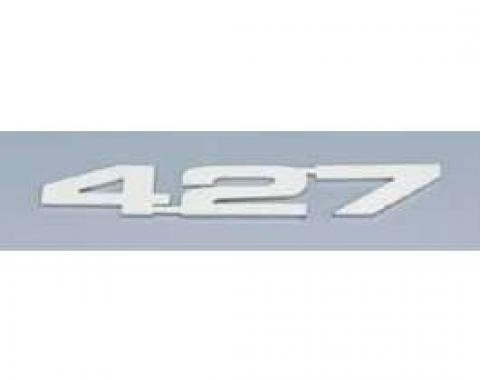 Camaro Hood Emblems, 427, Stainless Steel, 1967-1969