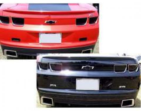 Camaro Blackout Kit, Taillight, 4-Piece, 2010-2013