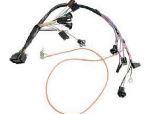 Camaro Console Wiring Harness, For Cars With Factory Gauges& Automatic Transmission, 1968